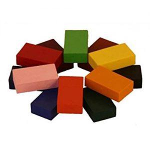 צבעי שעווה אנתרופוסופיים STOCKMAR - גיר בלוק