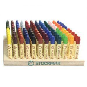 צבעי שעווה אנתרופוסופיים STOCKMAR - גיר אצבע